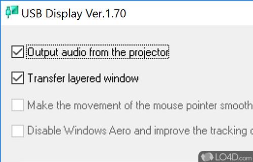 EPSON USB Display Screenshot