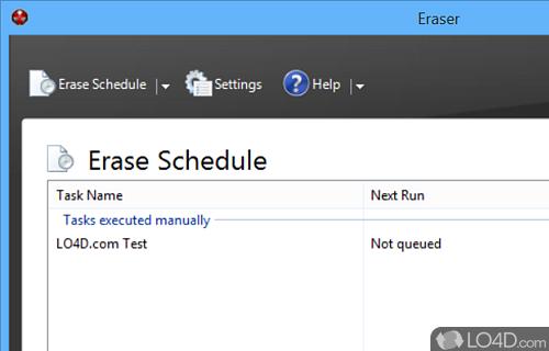 Eraser Screenshot