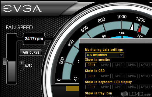 EVGA Precision X Screenshot