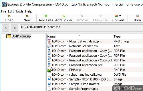 Express Zip Screenshot