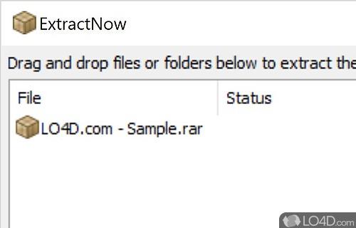 ExtractNow Screenshot