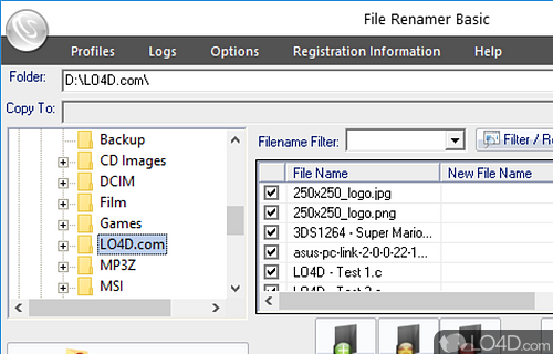 File Renamer Basic Screenshot