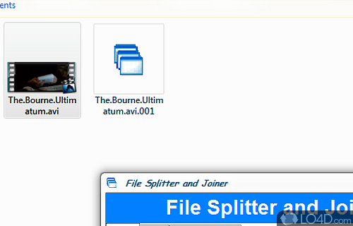 File Splitter and Joiner Screenshot