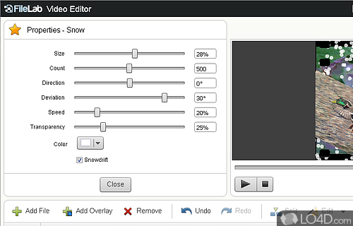 FileLab Video Editor Screenshot