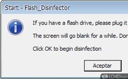 flash disinfector gratuit