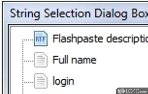 Flashpaste Lite Screenshot