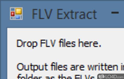 FLV Extract Screenshot