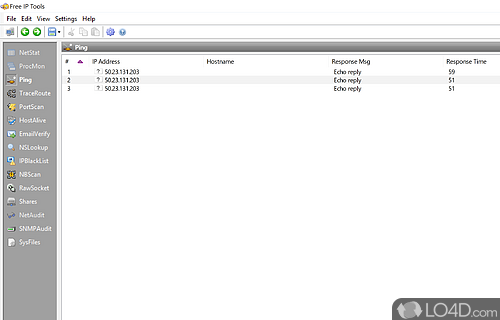 Free IP Tools Screenshot
