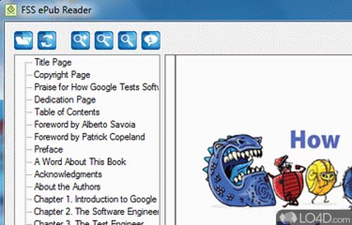 FSS ePub Reader Screenshot