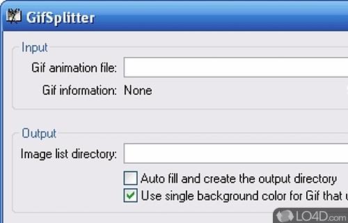 GifSplitter Screenshot