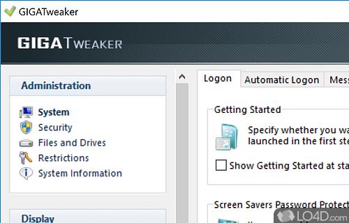 GIGATweaker Screenshot
