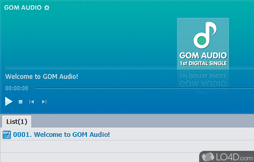 GOM Audio Screenshot