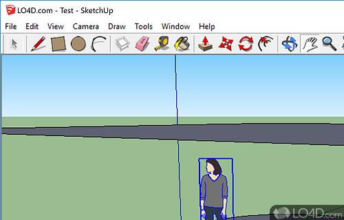 Google SketchUp Screenshot