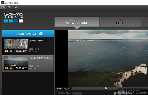 GoPro CineForm Studio Screenshot