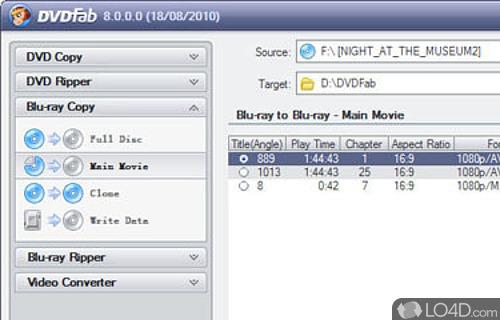 HD Decrypter Screenshot