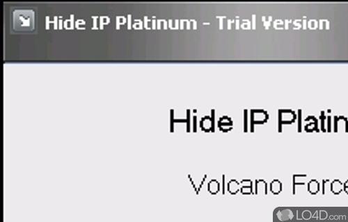 Hide IP Platinum Screenshot