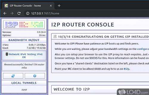 I2P Screenshot
