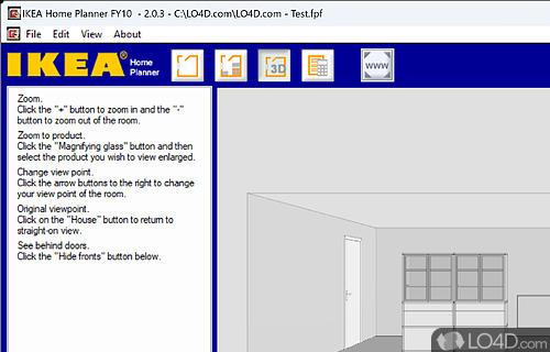 IKEA Home Planner Screenshot