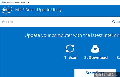 Intel Driver Update Screenshot