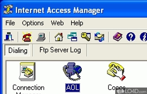 Internet Access Manager Screenshot