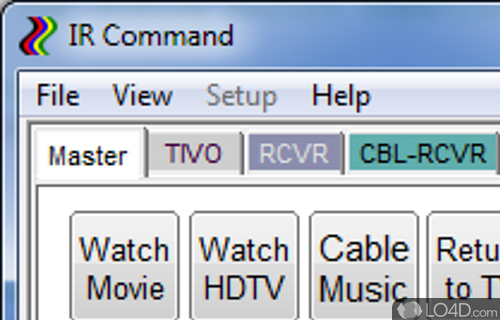IRCommand2 Screenshot