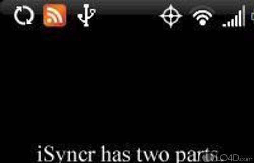 iSyncr Screenshot