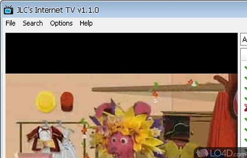 JLC Internet TV Screenshot