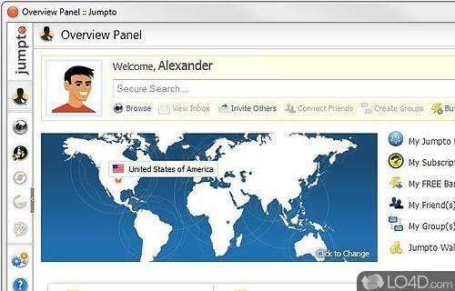 Jumpto Anonymous Internet Browsing Screenshot