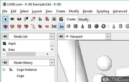 K 3D Screenshot