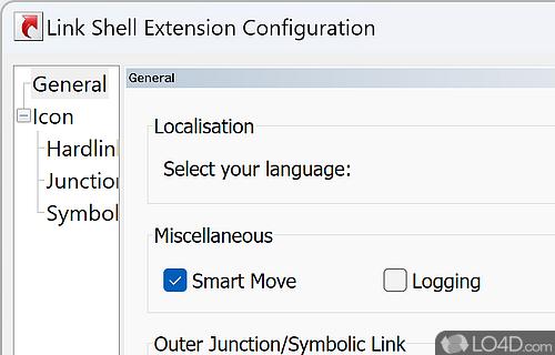 Link Shell Extension Screenshot