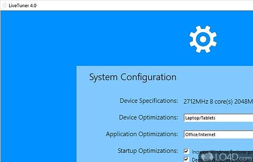 LiveTuner Screenshot