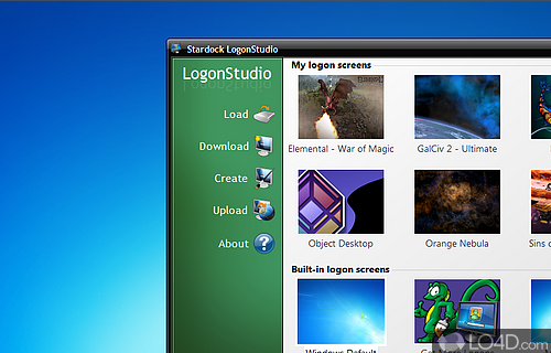 logonstudio pour windows 7