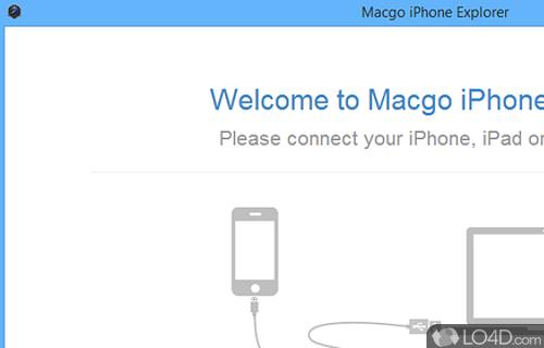 Macgo iPhone Explorer Screenshot