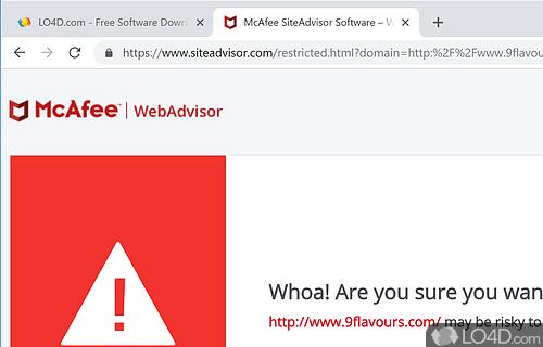 Mcafee siteadvisor download.