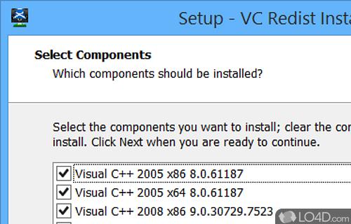 McRip VC Redist Installer Screenshot