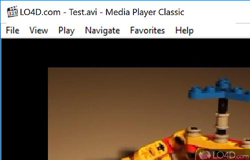 Media Player Classic Screenshot