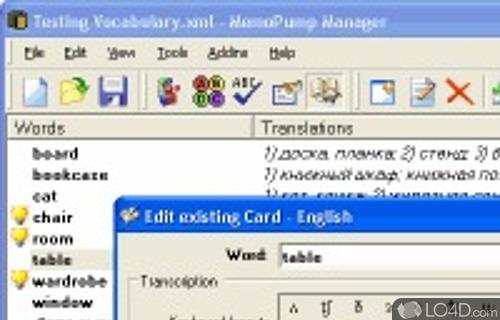 MemoPump Screenshot