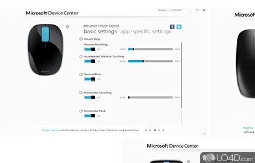 Microsoft Device Center x64 Screenshot