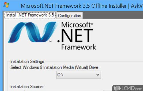 Microsoft NET Framework Offline Screenshot