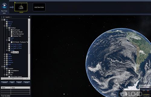 Microsoft WorldWide Telescope Screenshot
