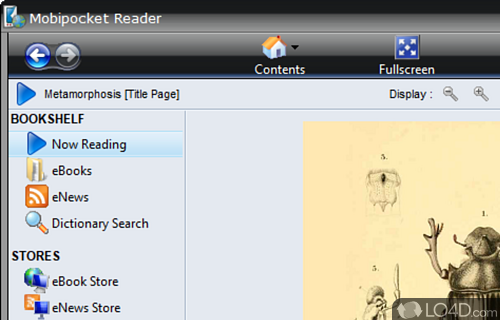 Mobipocket Reader Screenshot