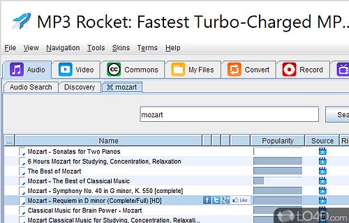 mp3 rocket 7.3 pro español