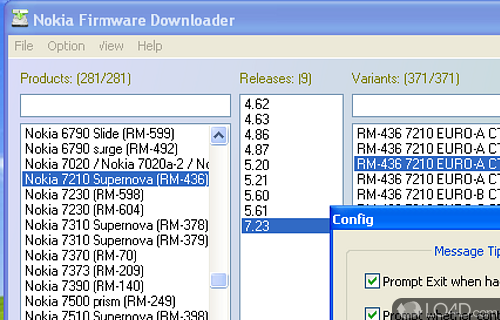 NaviFirmEx Screenshot
