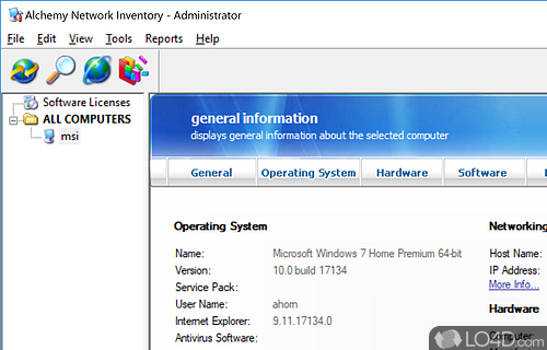 Network Management Suite Screenshot