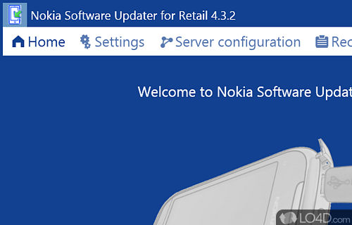 Nokia Software Updater Screenshot