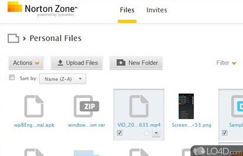 Norton Zone Screenshot