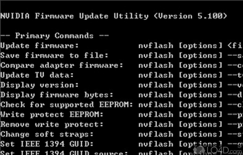 nVFlash Screenshot