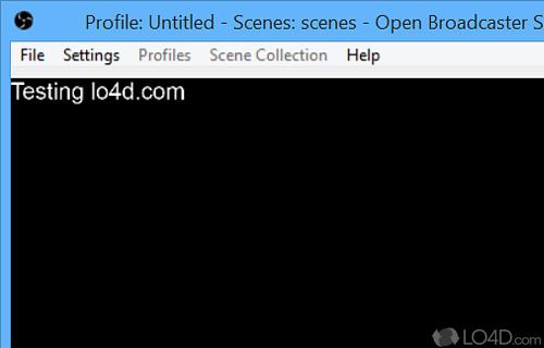Open Broadcaster Software Screenshot