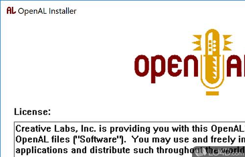 OpenAL Screenshot