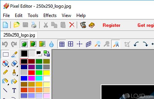 Pixel Editor Screenshot